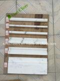 Moldeado de mármol blanco del moldeado decorativo casero, diseños de mármol de la frontera del suelo, el bordear de mármol del suelo