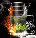 чашки боросиликата 450ml ручной работы стеклянные