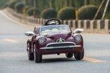 Автомобиль сбор винограда младенца с автомобилем игрушки детей дистанционного управления электрическим