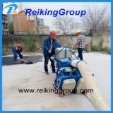 Alto equipo de la voladura de arena de la superficie de la carretera de la manera