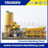 Fonte da fábrica com a planta de tratamento por lotes concreta elevada da produtividade Hzs25