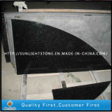 Kitchen Bathroom Tiles를 위한 자연적인 Stone Black Galaxy Granite Floors