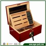Caixa de charuto de madeira personalizada alta qualidade