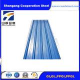波形の金属板の表面のGIによって電流を通される鋼鉄