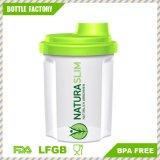 copo plástico relativo à promoção do abanador da proteína 300ml