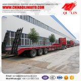 Трейлер кровати высокого качества низкий для перевозки тяжелого машинного оборудования