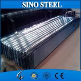 Hoja de acero acanalada galvanizada capa dura llena Z80 0.5*800m m de Dx51d