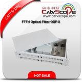"""Distribuição montada de fibra óptica Box/ODF da cremalheira de cabo da alta qualidade 1u/19 """""""