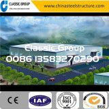 Armazém/oficina/hangar/fábrica fáceis bem parecidos da construção de aço da configuração