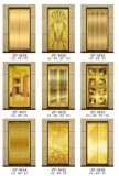 Лифт розовой нержавеющей стали зеркала золота селитебный домашний