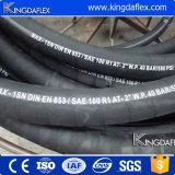 Qingdao-Fertigung ISO9001: 2008 anerkannter hydraulischer Schlauch SAE-100r1at