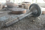 El acero redondo conservó el eje del mandril para el tubo de acero