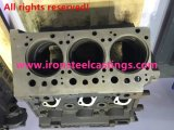 Цилиндровый блок двигателя тележки/затяжелителя