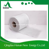 La fibra de vidrio cosió la estera usada en la guarnición interna de los tubos
