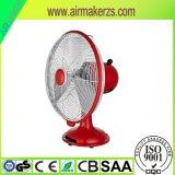 12 pulgadas de metal antiguo ventilador de mesa eléctrico con CE / RoHS / GS