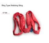 Un fornitore 100% di imbracatura della tessitura del poliestere, imbracatura di sollevamento, Ce, GS approvato