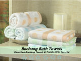 Bochang 2015 Cotton 100% Jacquard Bath Towel com Highquality