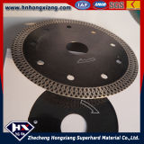 Netteté Cyclone Mesh Turbo Diamond Saw Blade pour Ceramic Marble