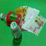 Étiquette en plastique de rétrécissement pour la bouteille de boissons