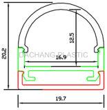 LEDアルミニウムProfleの拡散器カバー