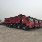 중국 HOWO 8*4 덤프 트럭 40 톤 팁 주는 사람