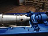 진창과 물 처리를 위한 Lw250*900 수평한 유형 나선 출력 침전 분리기