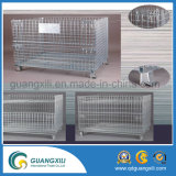 Armazém Galvanizado Folding Steel Storage Stacking Rack