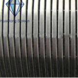 Type filtre pour puits de Johnson de l'acier inoxydable 316 de l'eau
