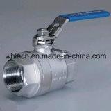 Шариковый клапан нержавеющей стали пневматический (отливка точности)