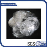 食糧容器のための使い捨て可能なプラスチックコップのふた