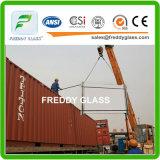 glace verte en verre en verre de guichet de 5mm F/construction/flotteur