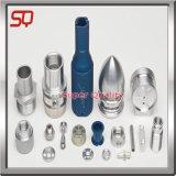 Cnc-Aluminiummaschinell bearbeitenteil für die Galvanisierung