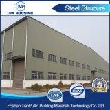 Taller de acero y almacén de la estructura de acero del panel de emparedado