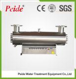 De UVdie Sterilisator van het Water voor de Desinfectie van het Afvalwater wordt gebruikt