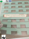 Feuille conductrice thermique en caoutchouc de silicones de garniture de réémetteur isofréquence de silicones pour le boîtier décodeur