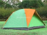 Im Freien 3-4 Personen-Zelte, doppelte Schicht-kampierende Zelte, wasserdichte Zelte