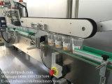 Superfície superior do auto copo da etiqueta e máquina de etiquetas do corpo