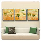 3 Panel-Kunst-Wiedergabe-moderne Farbanstrich-Abbildungen gedruckt auf Segeltuch für Haus und Büro