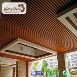plafond composé intérieur de PVC du matériau WPC de décoration de 100*50 millimètre