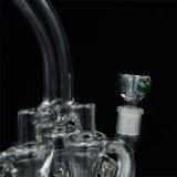 Formung schickes transparentes Glas-der rauchenden Wasser-Rohre Hv-021