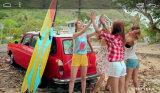 Navegación 3G DVD del coche con el iPod de BT para Ssangyong Kyron