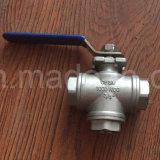 Пожар-Safe&Anti-Статический шариковый клапан 3-Port шестерни глиста управляемый трехходовой трехходовой запатентованный ый
