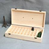 Vario modificar los rectángulos para requisitos particulares de madera para las botellas de petróleo esencial