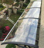 DIY Manual de policarbonato Roof Top Sun Rain Shelter Canopy