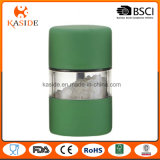 La mini mano di rivestimento metallico di colore gestisce la smerigliatrice della spezia