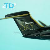 Модель двигателя смолаы Gulfstream G650 авиации неба приватная