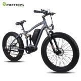26inch強力なモーター山の脂肪質のタイヤの電気自転車