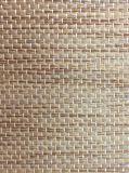 Quarto Wallcovering do hotel do papel de parede da textura de Grasscloth