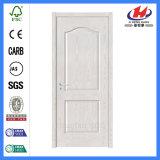 白いプライマーによって形成されるHDF/MDFの内部のパネルの木のドア(JHK-017)