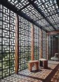 Edelstahl-Laser schnitt den im Freienmetallbildschirm, der in China hergestellt wurde